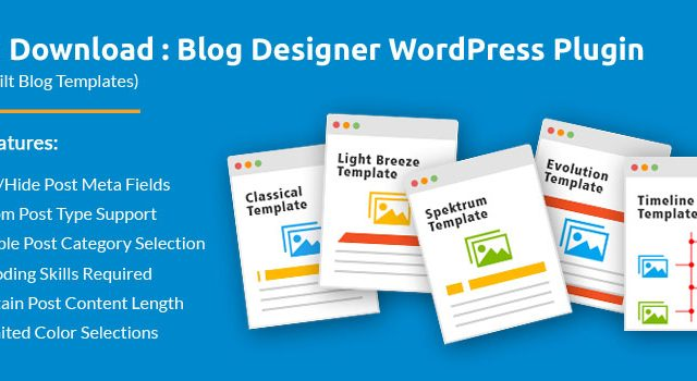 Blog Layouts Plugin for Your WordPress Website