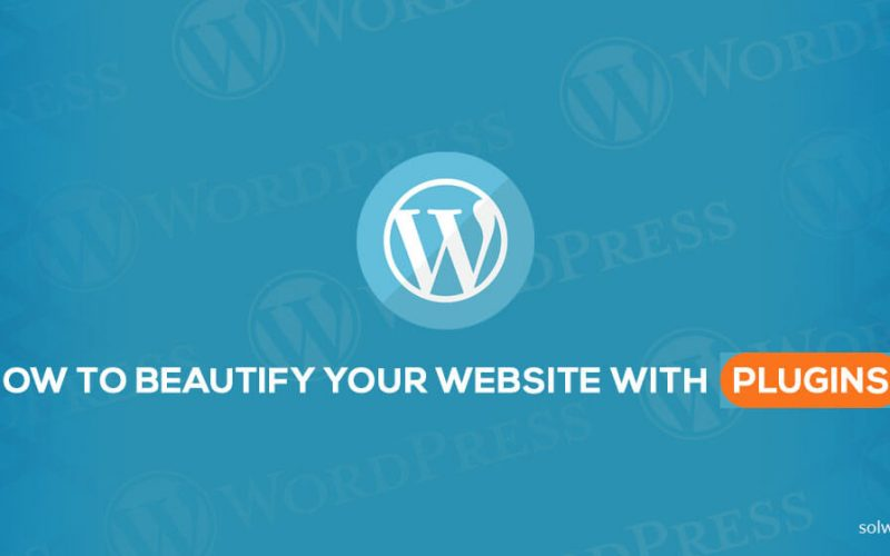 WordPress: How to Beautify your Website with Plugins