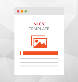 Nicy Blog Template