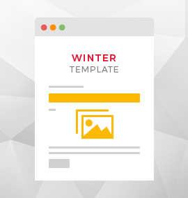 Winter Blog Template