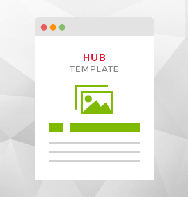 Hub Blog Template