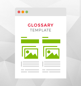 Glossary Blog Template