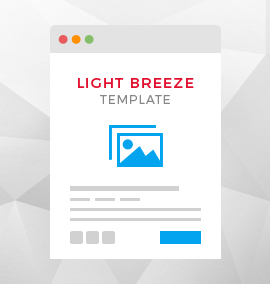 Light Breeze Blog Template