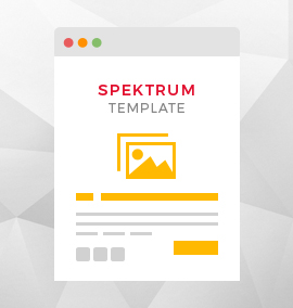 Spektrum Blog Template