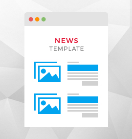 News Blog Template