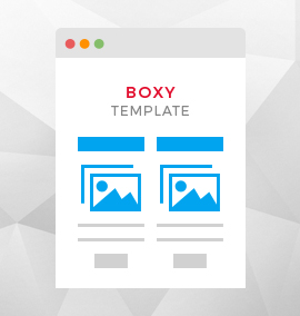 Boxy Blog Template
