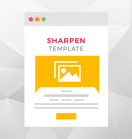 Sharpen Blog Template