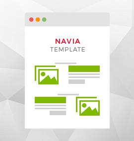 Navia Blog Template