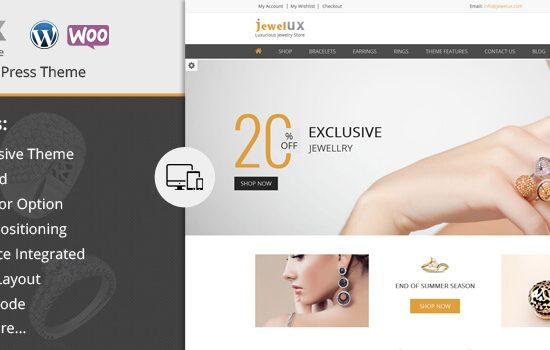 JewelUX - Premium WooCommerce based WordPress theme