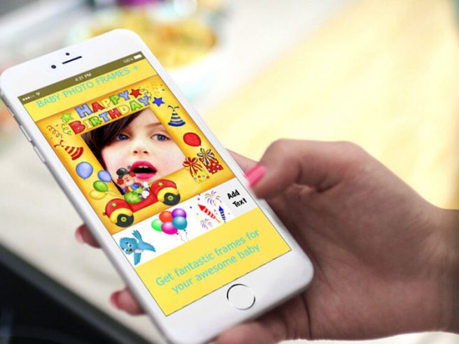 Exclusive: Baby Photo Frames+ app for iPhone users