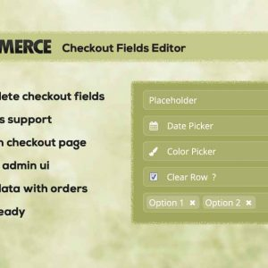 WC Checkout Fields Editor - WordPress Plugin
