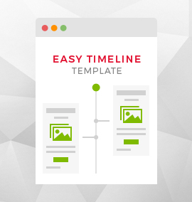 Easy Timeline Blog Template