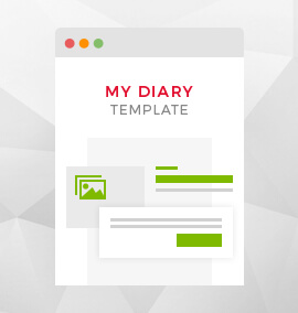 My Diary Blog Template