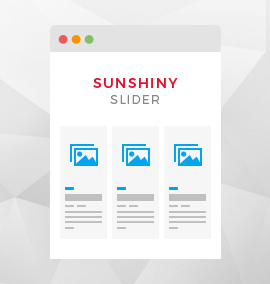 Sunshiny Slider Template