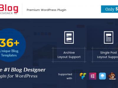 Limited Time Offer, Blog Designer Pro at $19 Only (Expired!)