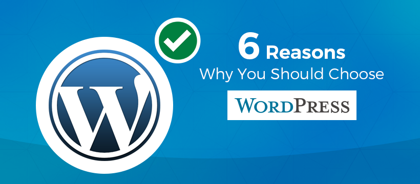 6 Reasons Why You Should Choose WordPress?