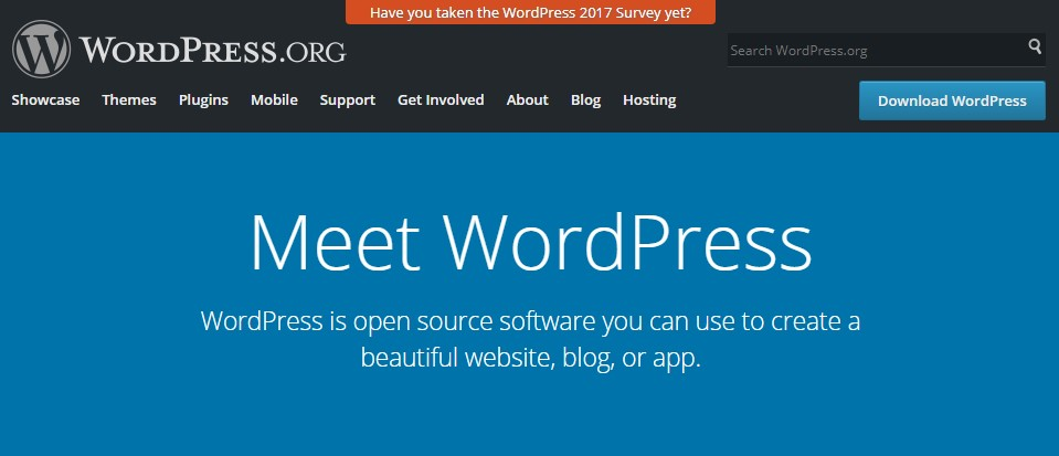 wordpress is open source