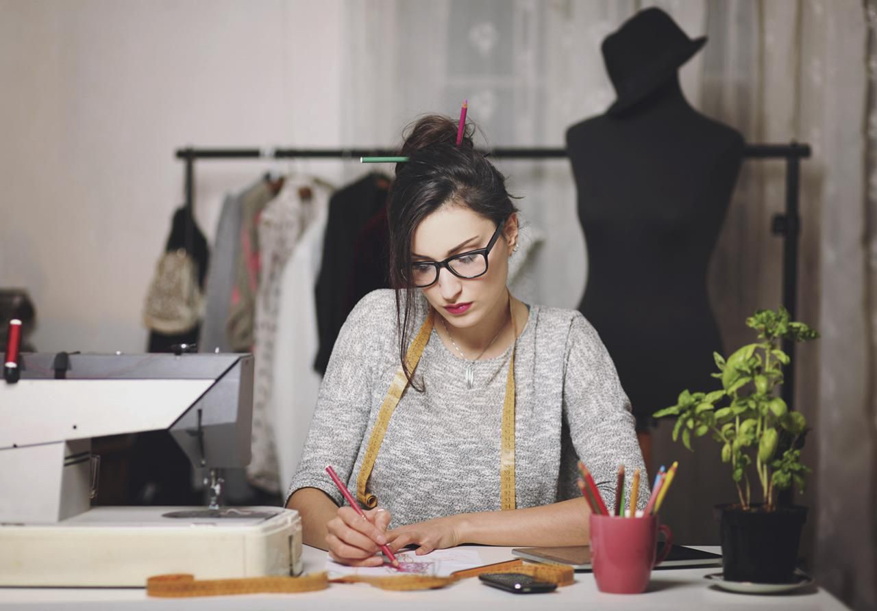 Becoming a designer fashion