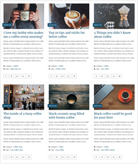 Boxy Clean Blog Template