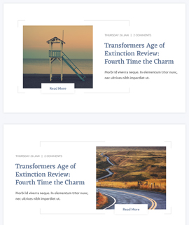 Clicky Blog Template