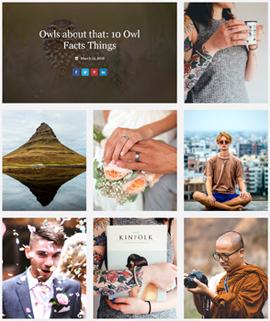 Explore Blog Template