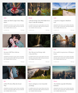 Famous Blog Template