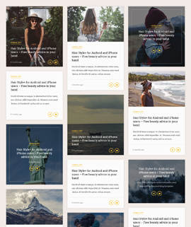 Glamour Blog Template
