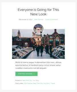 Miracle Blog Template