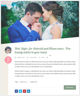 Pretty Blog Template