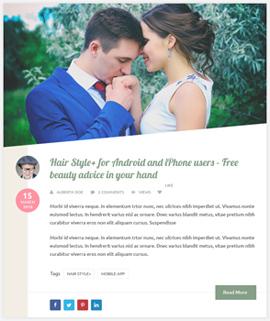 Pretty Blog Template