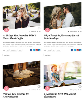 Roctangle Blog Template