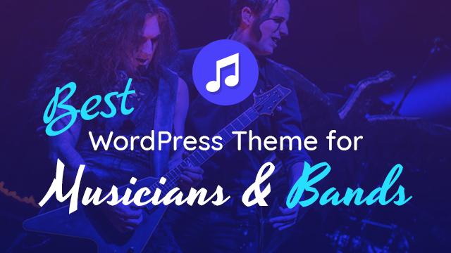 Best Music WordPress Theme For Dj, Band Or Singer Artists