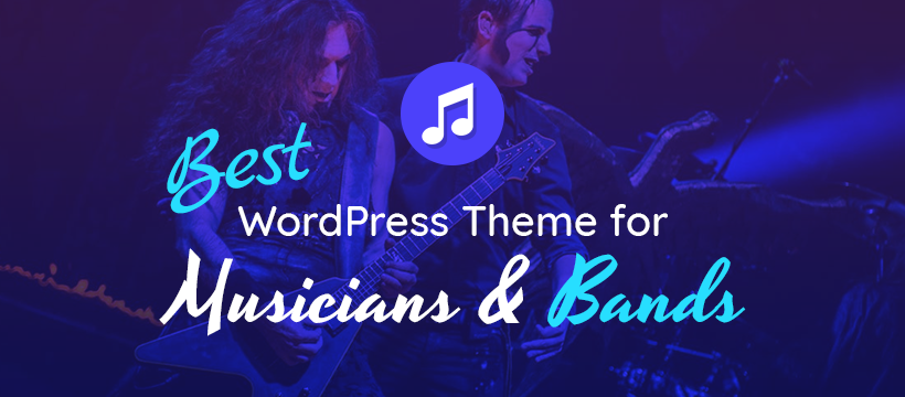 Best Music WordPress Theme For Dj, Band Or Singer Artists