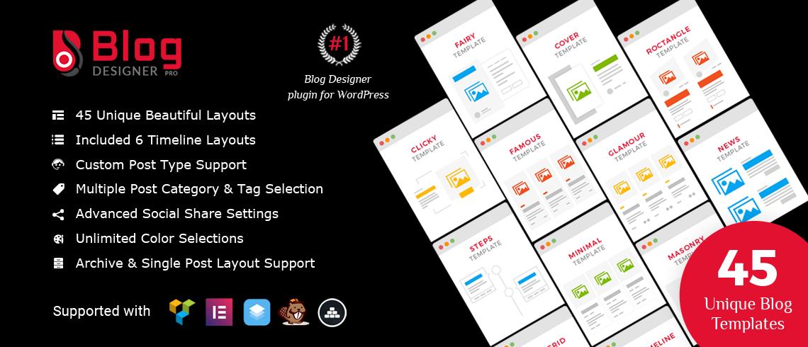 blog designer plugin