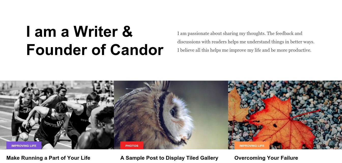 Candor – Just another WordPress site