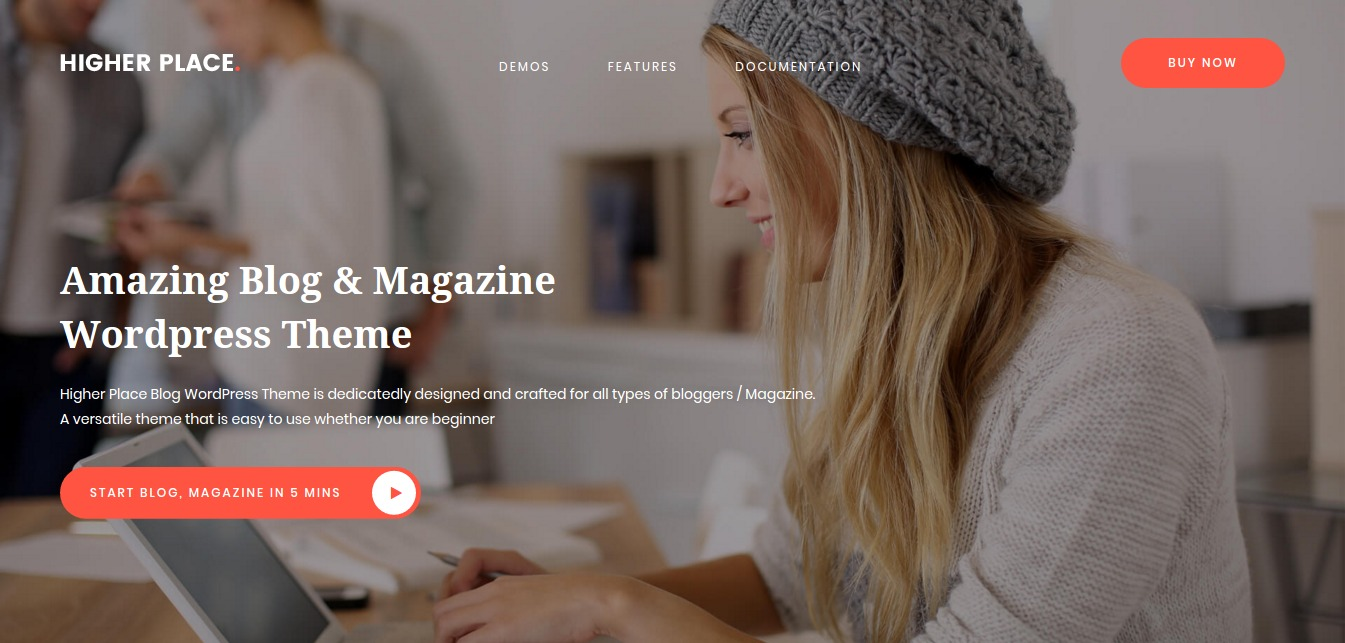 Higher Place - Blog & Magazine WordPress Theme