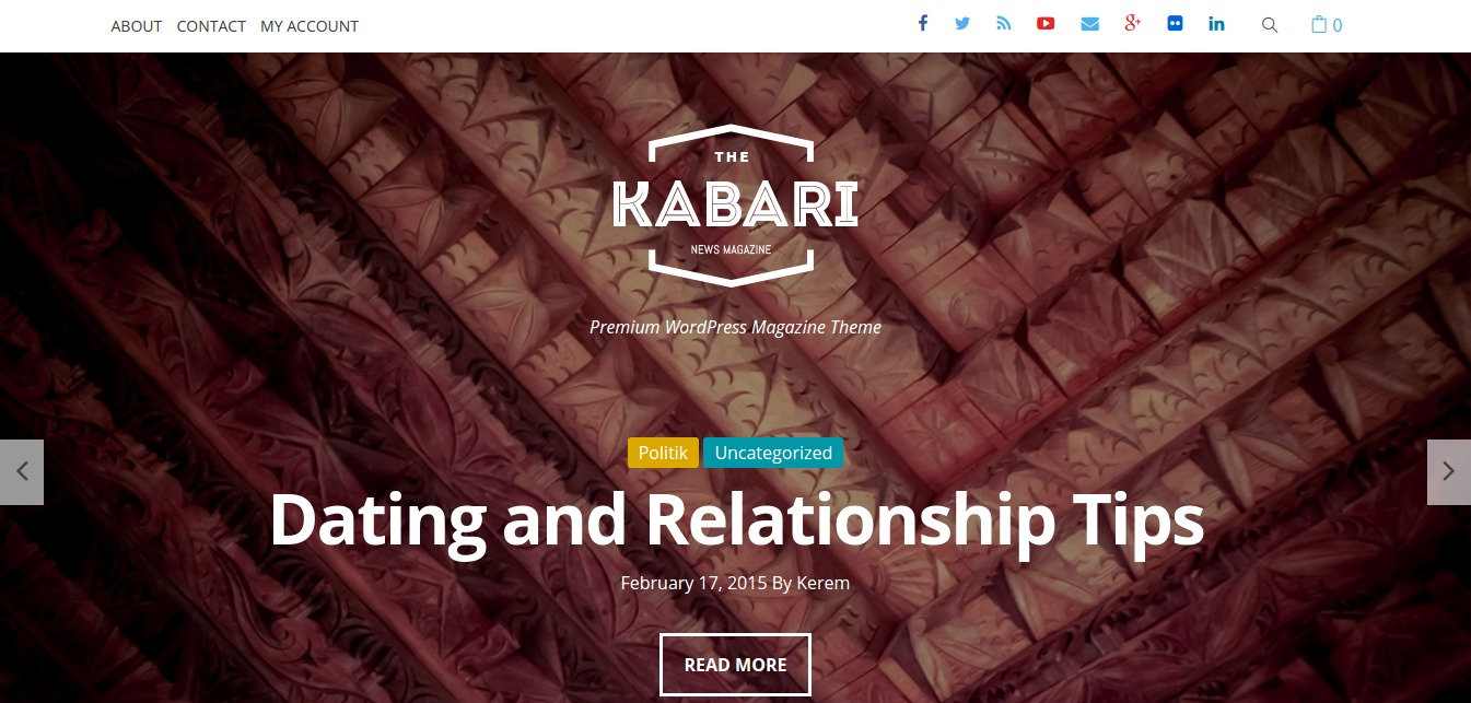 Kabari – Premium WordPress Magazine Theme