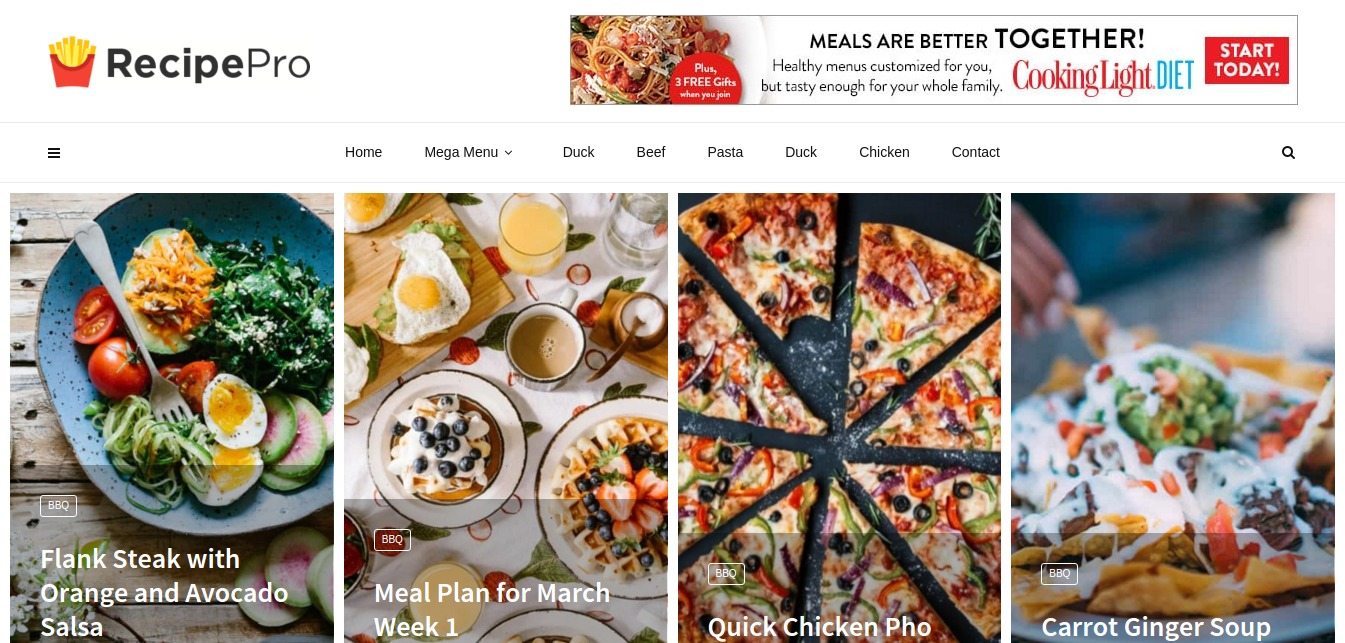 Recipe Pro – Just another MagPlus Sites site