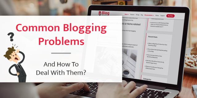 common blogging problems