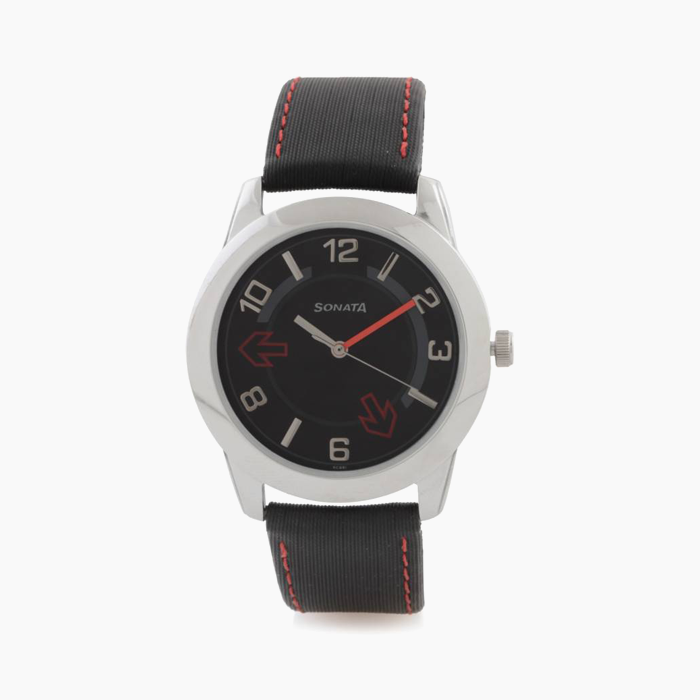 Black belt watch