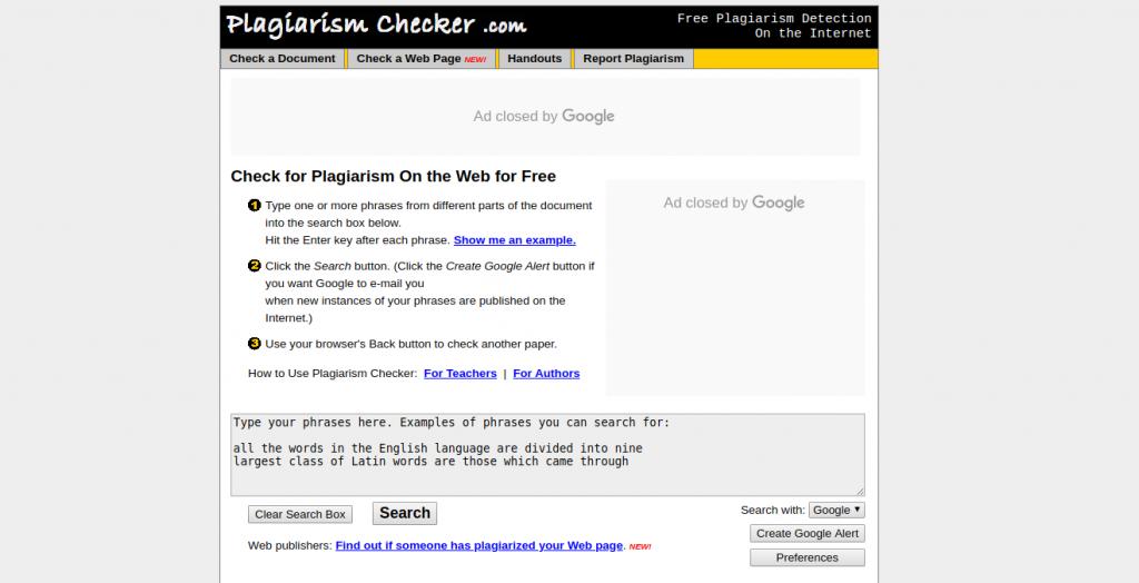 plagiarismchecker
