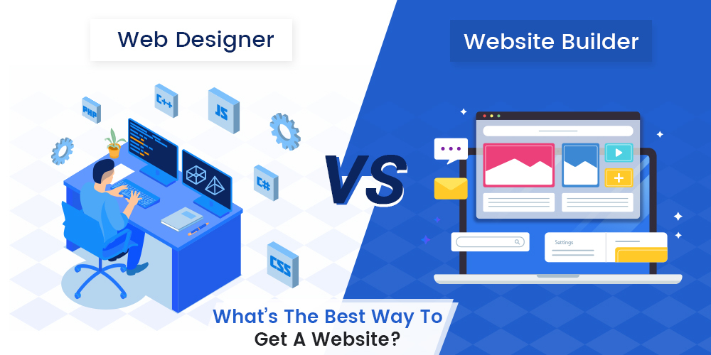 Website Builder Vs Web Designer
