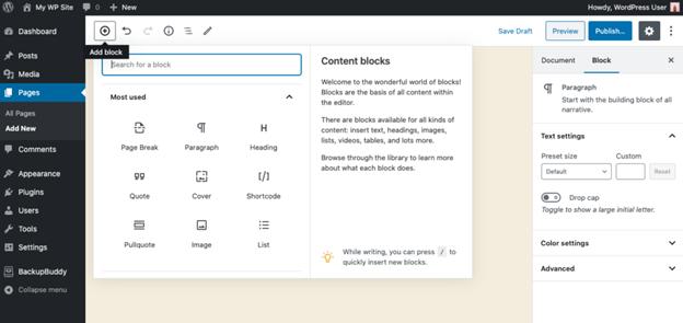 Content Blocks