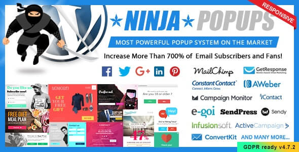 Ninja popups