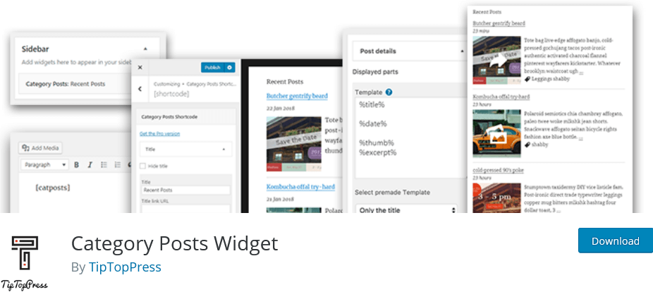 Category-Posts-Widget