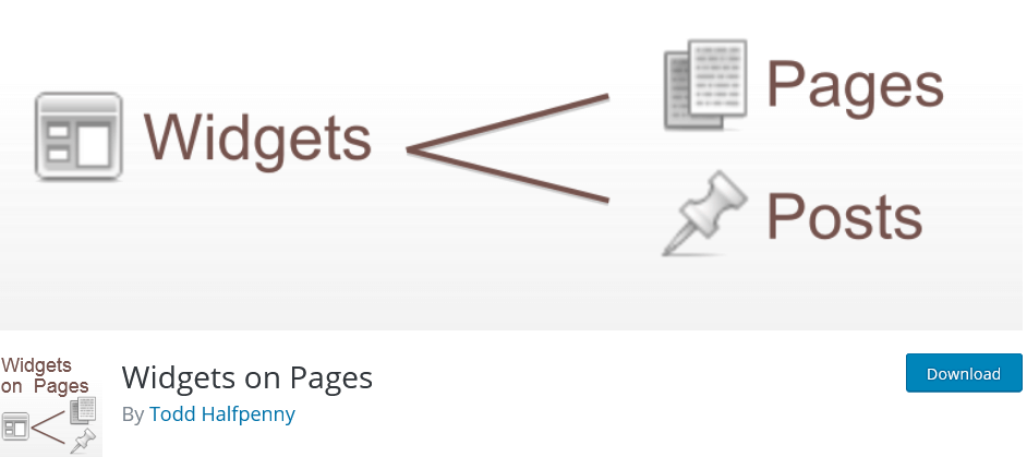 Widgets-on-Pages